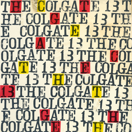 The Colgate Thirteen, The Colgate Thirteen (Boxes Cover)