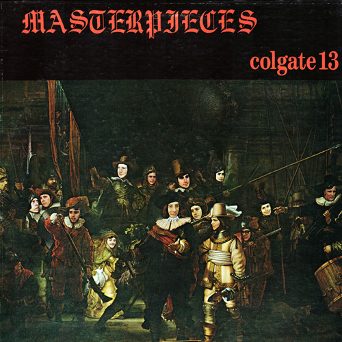The Colgate Thirteen, Masterpieces